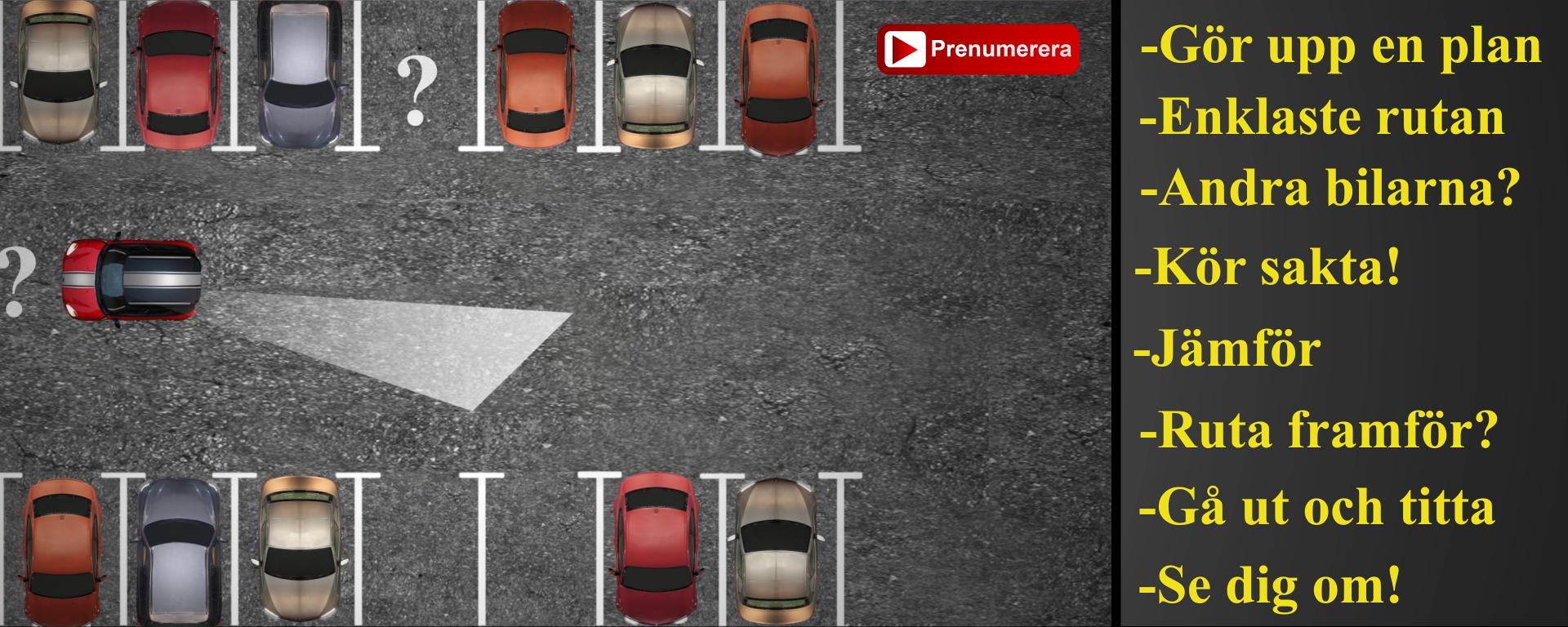 råd vid parkering