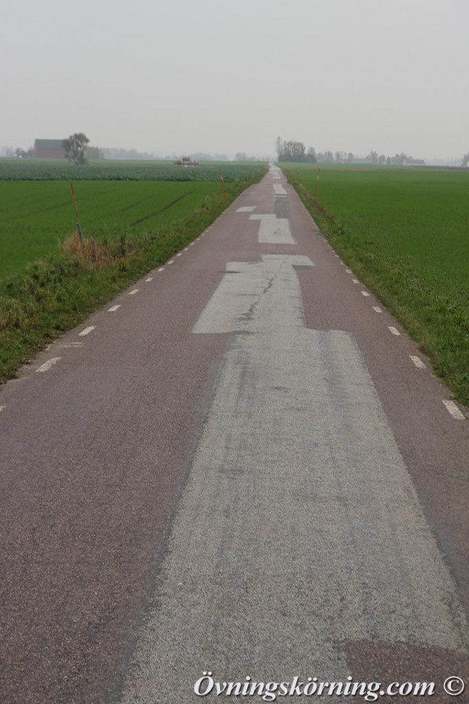 rak väg utan utfart