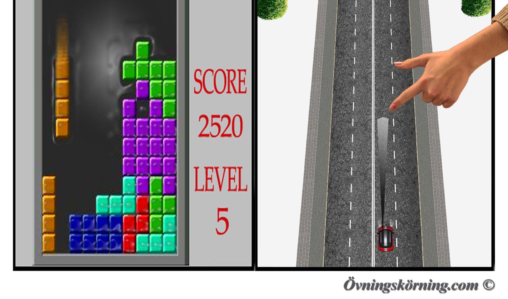 Tetris titta kort